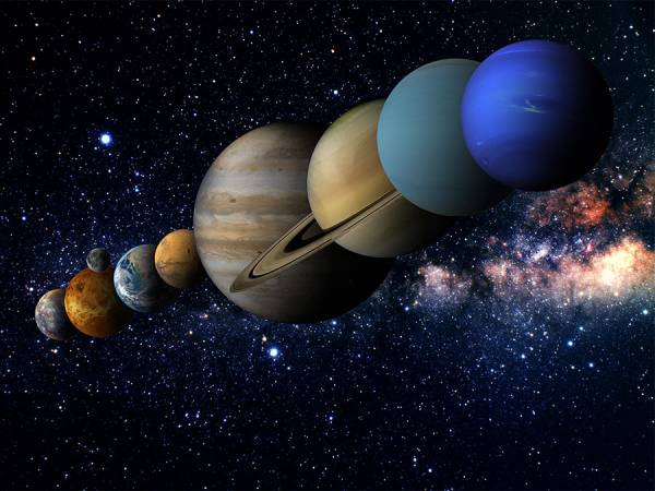 سیاره های منظومه شمسی