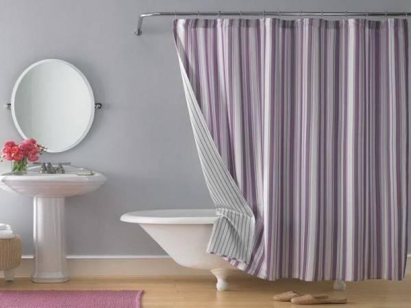 پرده ی حمام