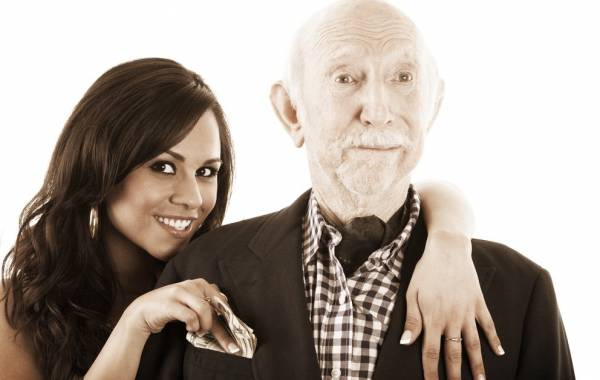 رابطه با پیرمرد پولدار