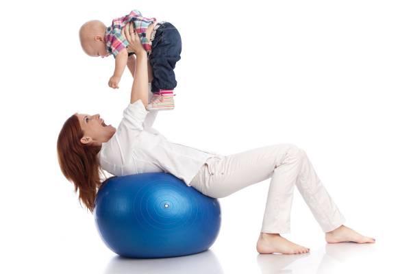 تمرینات ورزشی بعد از زایمان