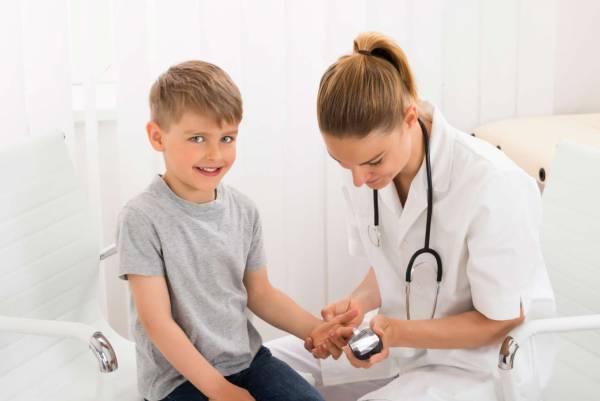 علائم ديابت در کودکان زير 2 سال