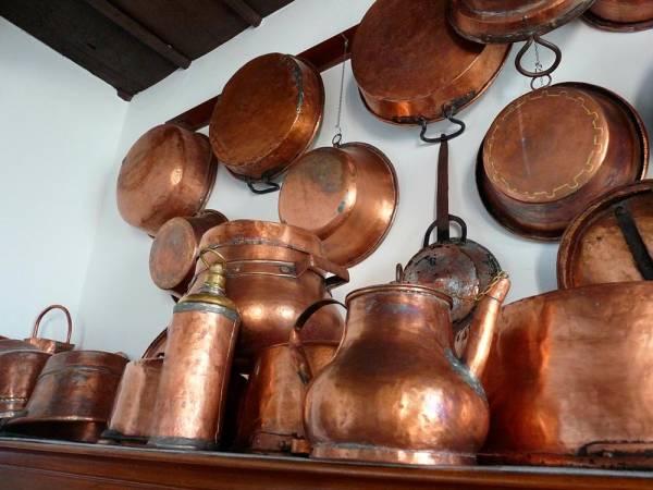 ظروف مسی قدیمی