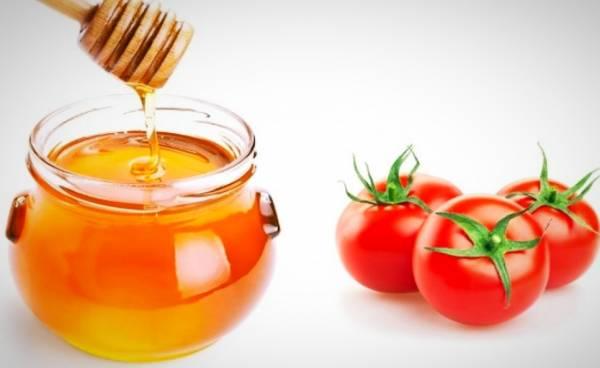 ماسک گوجه و عسل