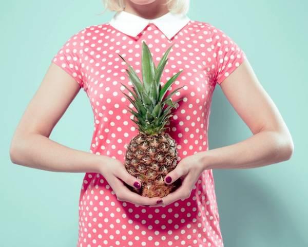 مصرف آناناس در بارداری