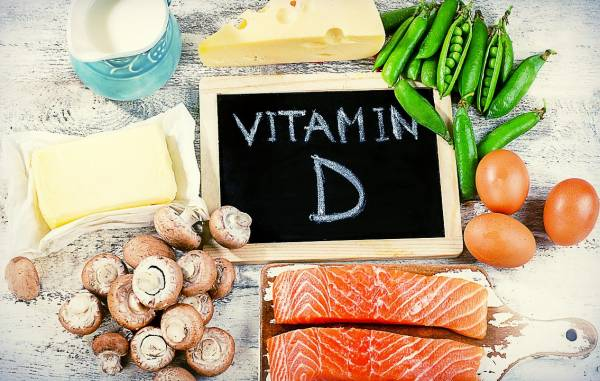 مواد غذایی ویتامین D