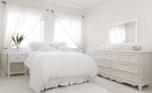 سرویس خواب سفید ساده