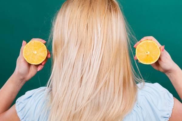 رنگ کردن طبیعی مو با لیمو