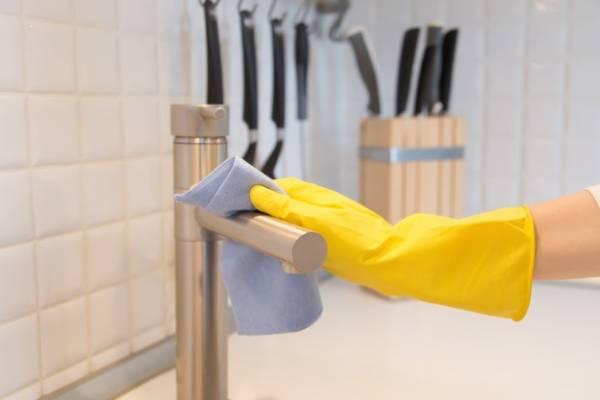 رسوب سینک ظرفشویی