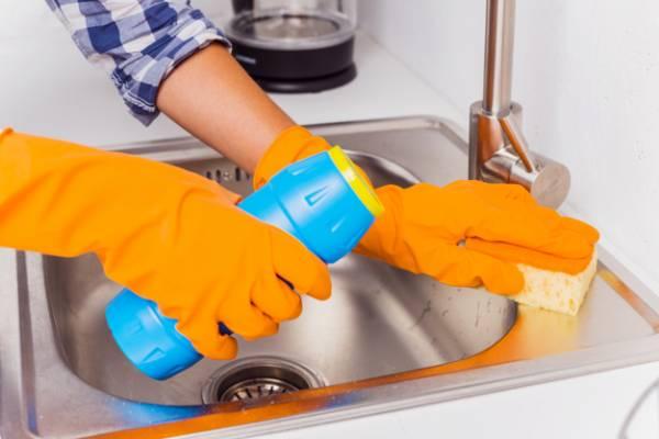 تمیز کننده سینک ظرفشویی