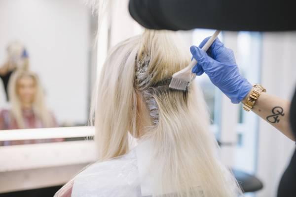 زیباتر شدن رنگ مو
