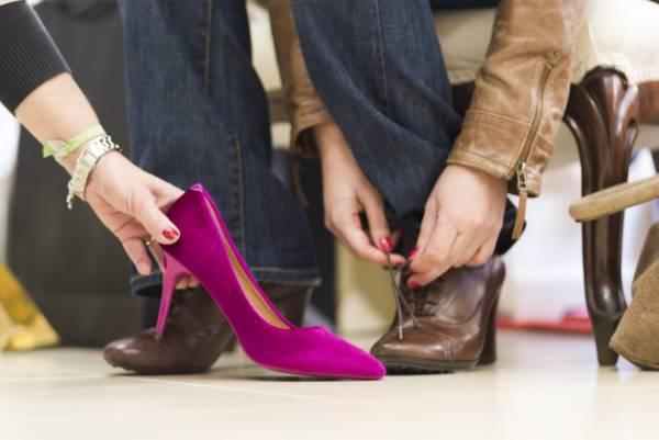 انتخاب سایز کفش