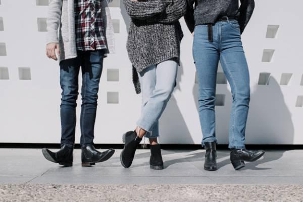 اندازه پاشنه کفش