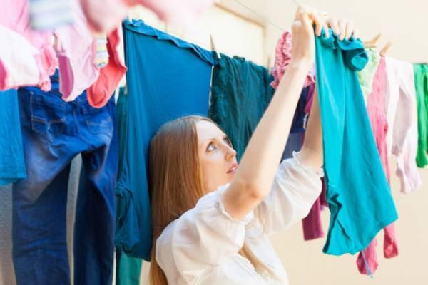 نکات خشک کردن لباس ها در جنس و انواع مختلف