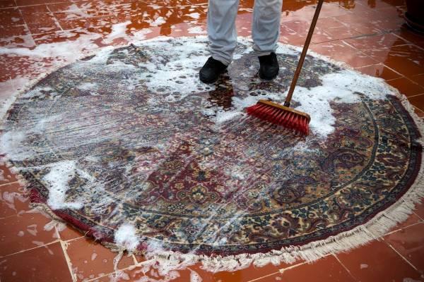 نکات شستن فرش در خانه