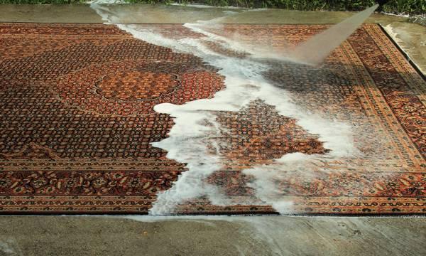 رنگ پس دادن فرش دستباف