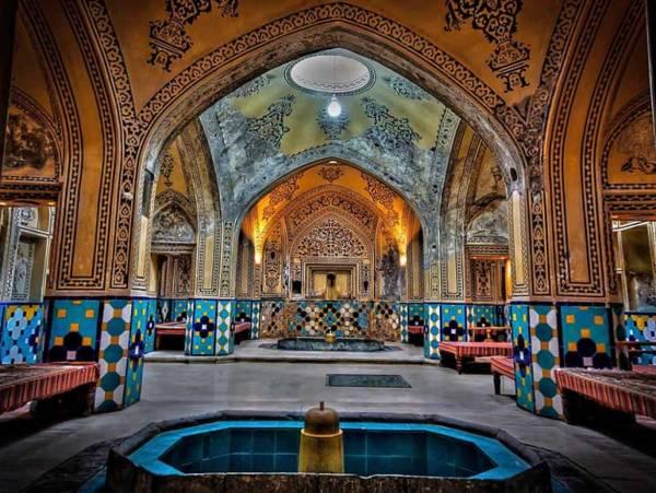 حمام سلطان امیر احمد در کاشان