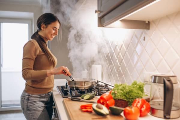 لاغری با آشپزی