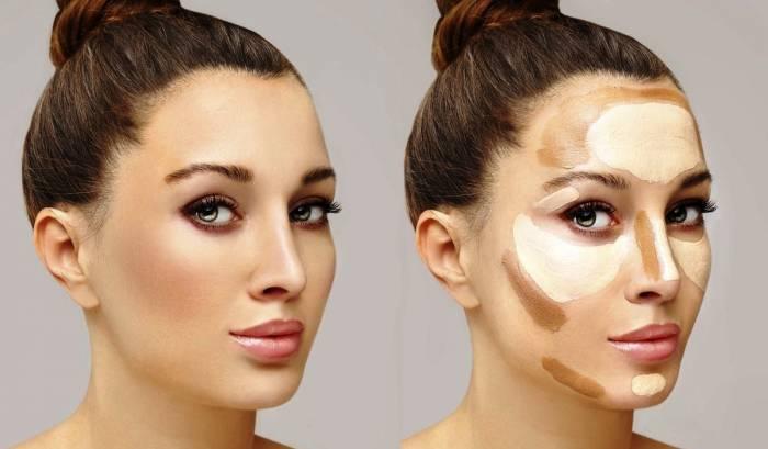 روش کانتور کردن صورت