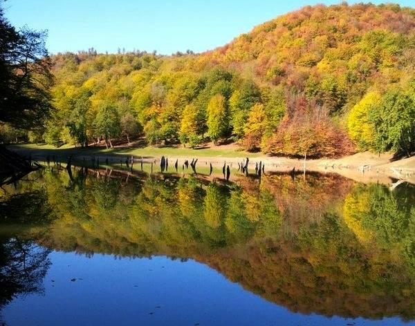مسیر دریاچه چورت
