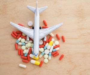 دارو در هواپیما