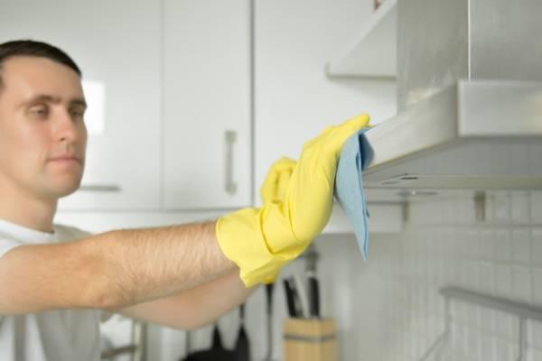 تمیز کردن هود
