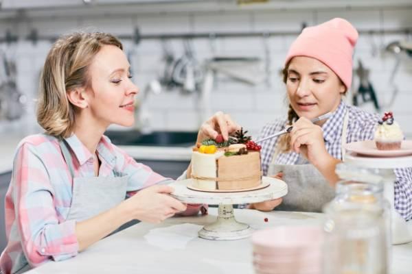 کیک پزی در منزل