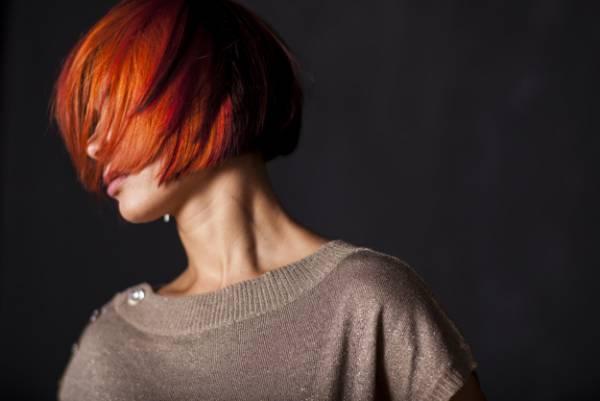 رنگ مو با رنگ خوراکی