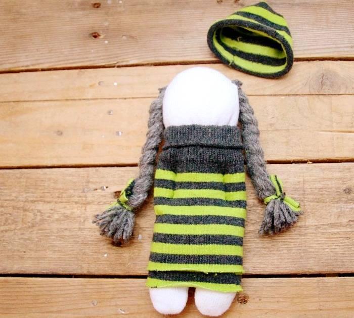 عروسک جورابی جدید