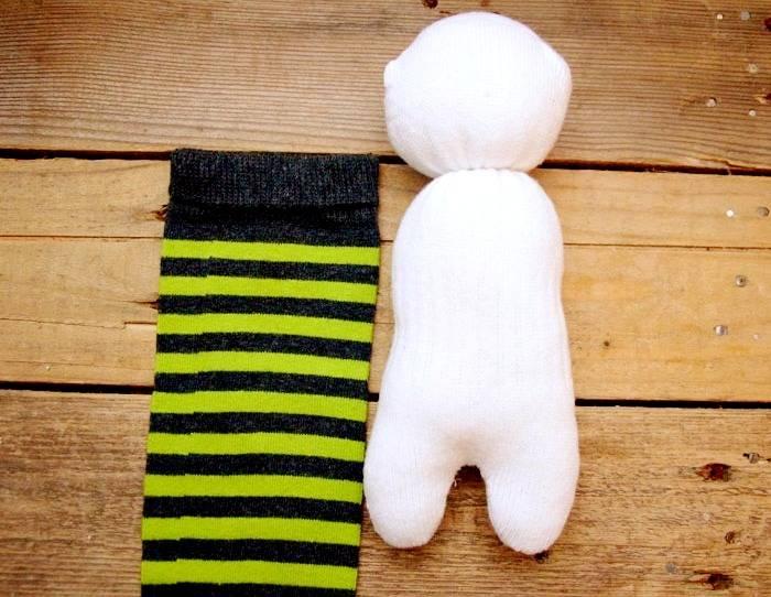 ساخت عروسک جورابی