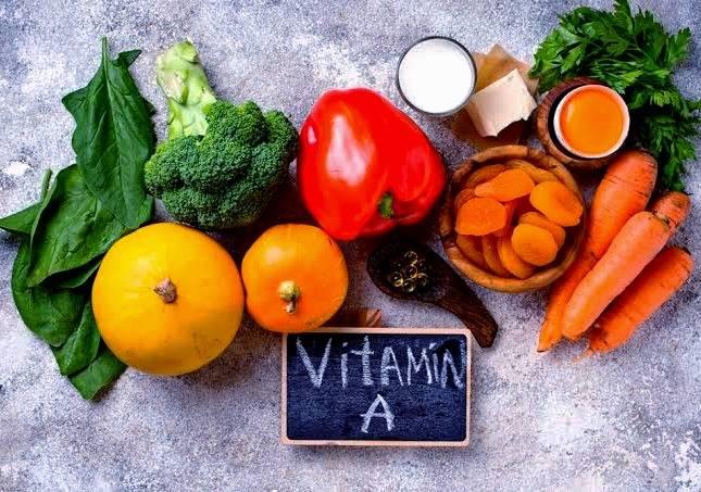 مواد غذایی ویتامین a