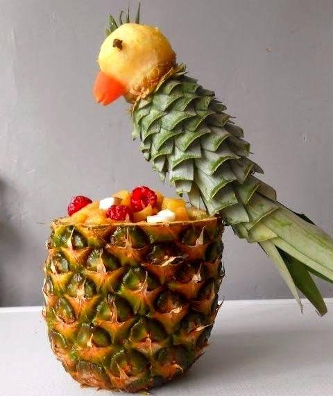 تزیین آناناس یلدا
