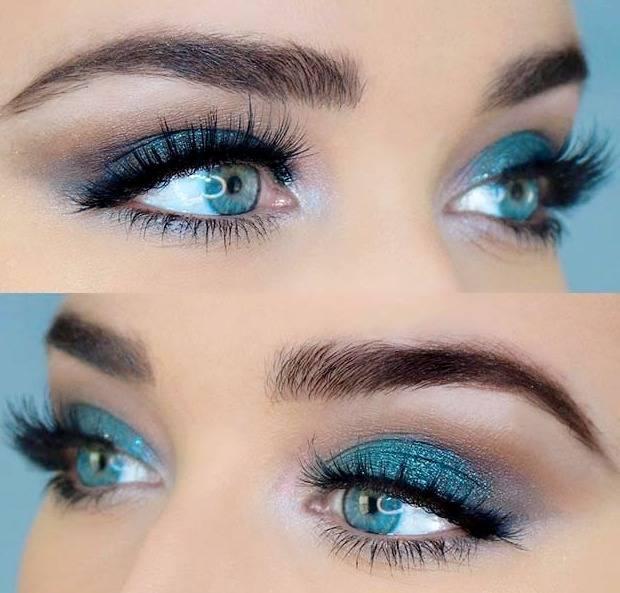 آرایش آبی