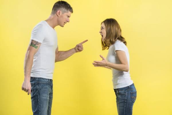 خشم همسر