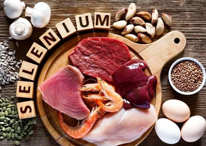 مواد غذایی سلنیوم