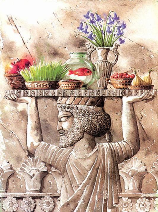 عید نوروز ایران باستان