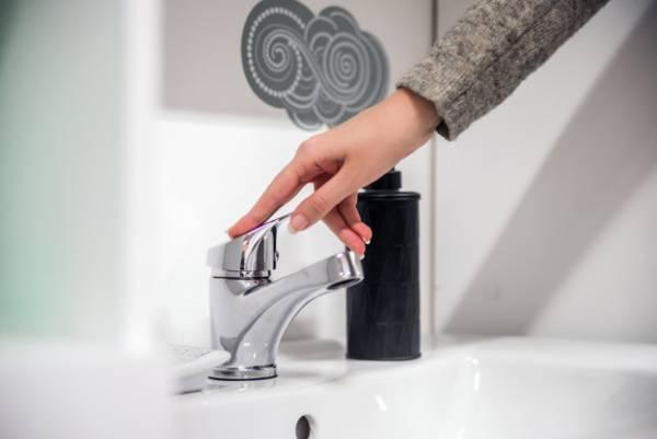 شیر آب دستشویی