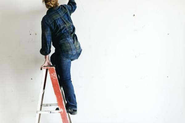 افتادن از نردبان