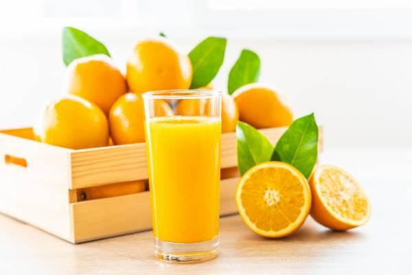 فواید آب پرتقال