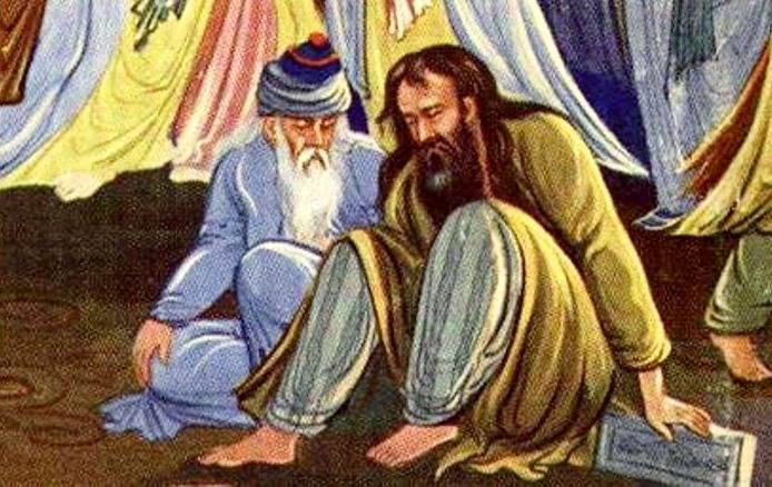 مولانا و شمس تبریزی