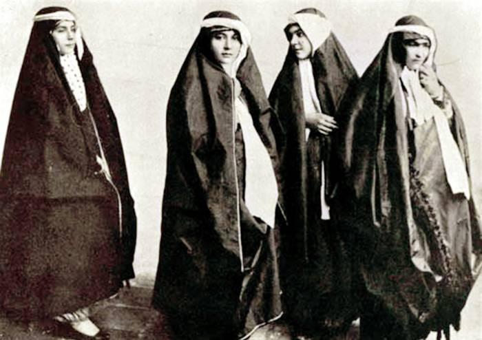 حجاب در ایرانیان باستان