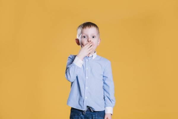 کودک فضول و خبرچین