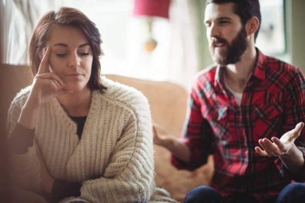 عوارض لجبازی با همسر