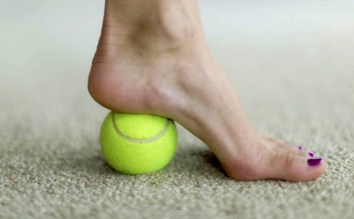 رفع درد کف پا