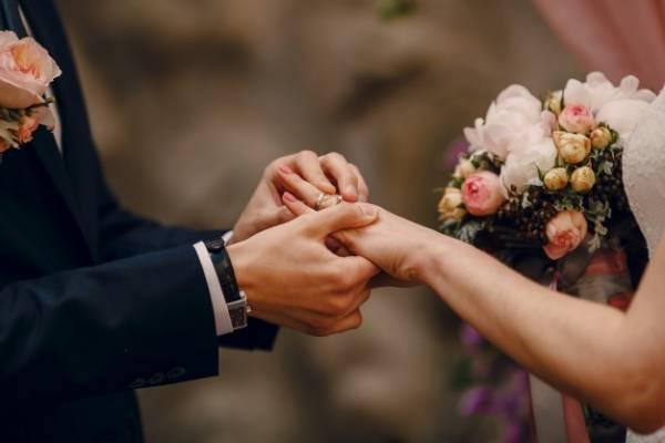حلقه ازدواج در قدیم