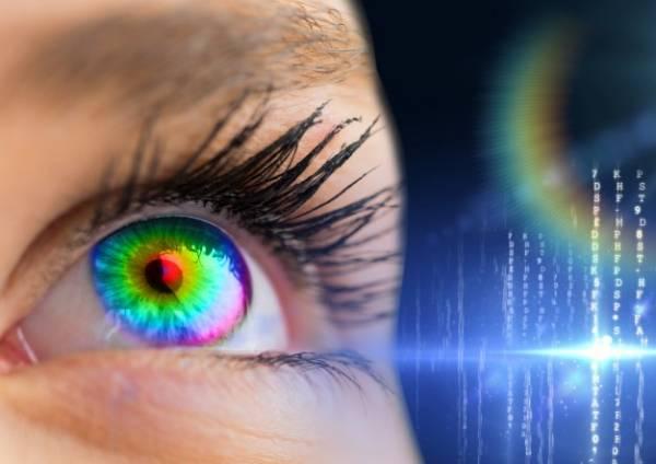 لیزر رنگ چشم