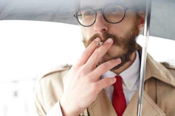 بیماری برگر سیگار