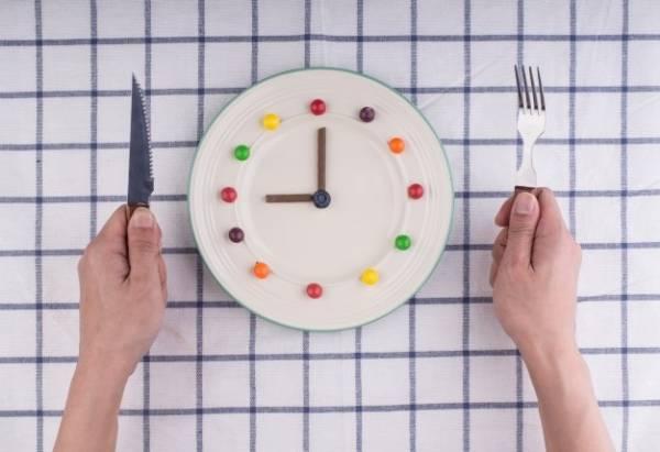 زمان خوردن غذا