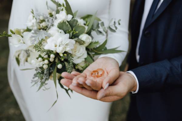 تبریک ازدواج دختر و داماد