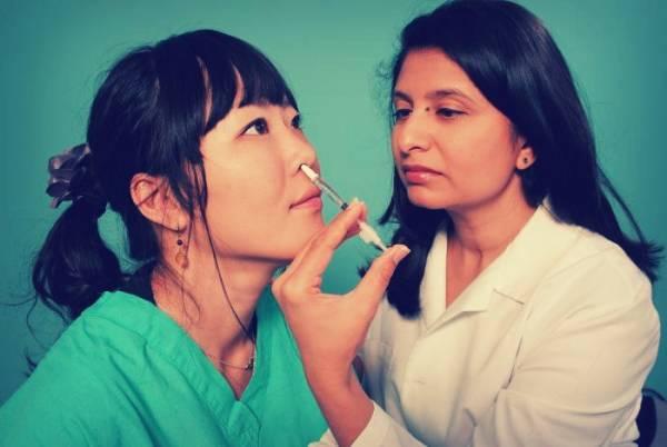 واکسن استنشاقی آنفولانزا