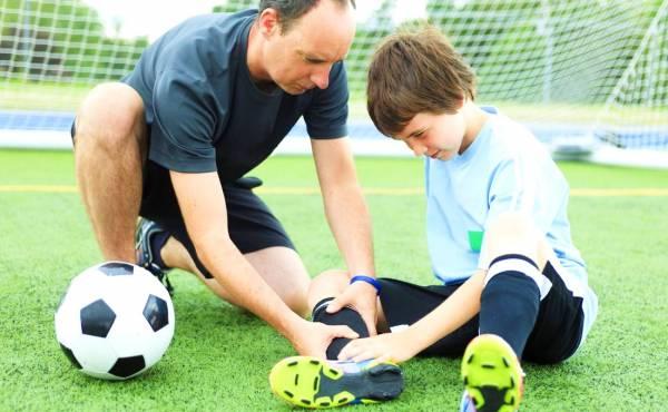 آسیب ورزشی کودک